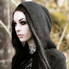 Post-Apocalyptic #Goth look