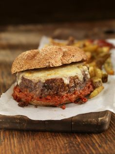 Meatloaf sandwiches are delicious, but a freshly made, hot off the grill meatloaf burger is even better. This burger takes comfort food to another level.