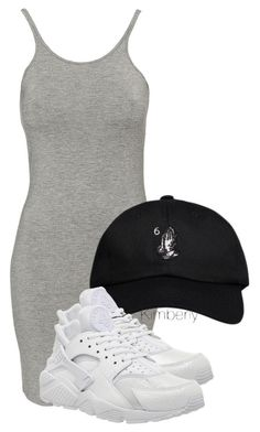 """Untitled #1188"" by whokd ❤ liked on Polyvore featuring T By Alexander Wang, October's Very Own and NIKE"
