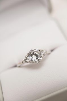1 Carat Round Cut Diamond Engagement Ring F for sale online Engagement Ring Buying Guide, Engagement Rings For Men, Diamond Engagement Rings, 1 Karat, Expensive Wedding Rings, Wedding Ring Styles, Morganite Engagement, Ring Verlobung, White Gold Rings