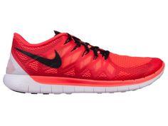 *SALE* BRAND NEW MENS NIKE FREE 5.0 2014 RUNNING SHOES (BRIGHT CRIMSON) Nike Runners, Nike Free, Running Shoes, Athlete, Sportswear, Bright, Brand New, Stuff To Buy, Men