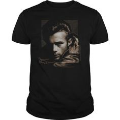 Custom Names James Dean - Brown Leather T shirts