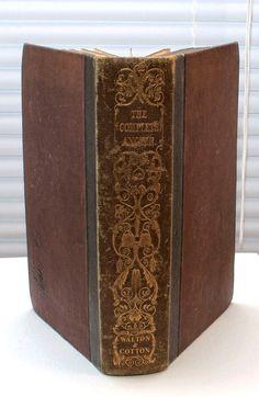 The Complete Angler 1842 Izaak Walton by CollectableMrJones