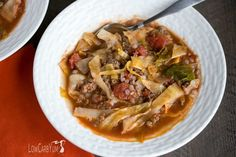 Low carb unstuffed cabbage soup recipe