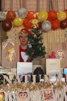 Essential Oils We Trust at Mumma's Nest Christmas Safari Market in support of Life Education.