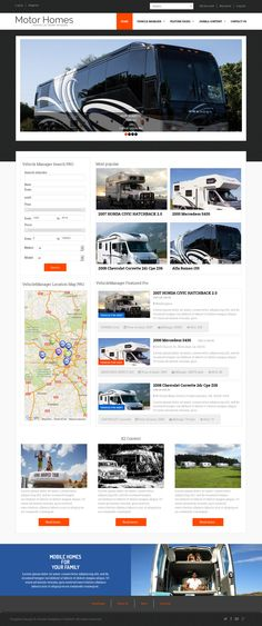 Auto Dealership is new responsive automotive car dealership website