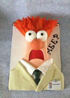 Meep ~ Beaker Cake ~ Muppets