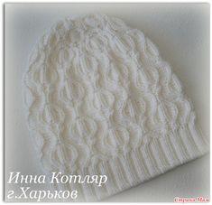 "Шапочка ""Бумажный фонарик"" Knit Crochet, Crochet Hats, Kids Hats, Beanie Hats, Knitted Hats, Scarves, Projects To Try, Crochet Patterns, Knitting"