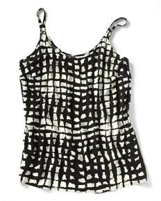 JUNAROSE Sleeveless Printed Top