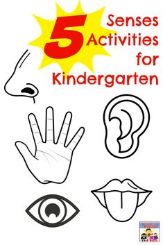 Learn the 5 Senses with these 5 senses #kindergarten activities. Also great for your #prek kiddo as their 4 year old sister did all of these #STEM projects with her brothers. #ihsnet #MyFather'sWorld #homeschooling