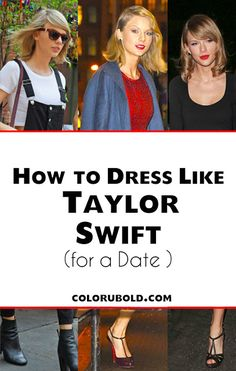 Taylor Swift is gorgeous with every outfit she wears! I love these 3 date night looks and love how I can get the look for less! Dress Like Celebrity, Celebrity Style, Taylor Swift Style, Night Looks, Get The Look, Thursday, Girly, Dating, Style Inspiration