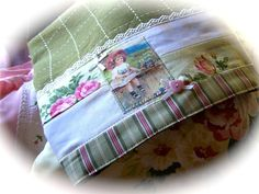 This is a simply charming, decorated tea towel. Decorative towels add to your kitchen theme. Created by Cath.