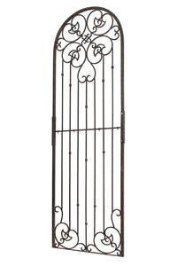 Trellis Wrought Iron Ornamental Large Garden Obelisk For Climbing