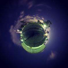 Kofukuji Temple by yoshi_yamashita Little Planet, Yoshi, Planets, Temple, Celestial, Instagram Posts, Outdoor, Outdoors, Temples