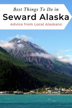 The best things to do in Seward Alaska, advice from local Alaskans! Summer in Seward Alaska is the best time to take a boat tour of Kenai Fjords National Park. Learn about the best hiking, fishing, re Anchorage Alaska, Seward Alaska, Kenai Alaska, State Parks, Alaska Summer, Kenai Peninsula, Michigan, Alaska Adventures, Kenai Fjords
