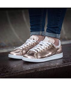 4ecf079356e8b1 quality assurance on Cheap Adidas Stan Smith Metallique Rose Gold Chaussure  Trainers Sale UK