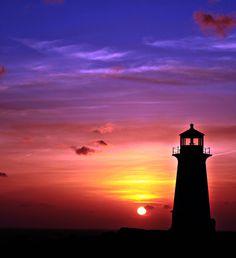 Sunset at Peggy's Cove - ©Jason Quackenbush Photography (via The Weather Network)