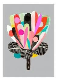 Image of Protea - Flower Art Print Protea Art, Protea Flower, Art And Illustration, Vogel Illustration, Art Du Collage, Collage Artists, Art Floral, Fleur Protea, Flower Prints