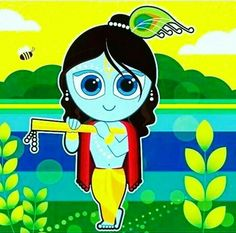 ☘❣❤ Bal Krishna, Krishna Art, Krishna Images, Radhe Krishna, Little Krishna, Cute Krishna, Lord Krishna Wallpapers, Radha Krishna Wallpaper, Basic Drawing For Kids