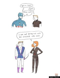 'Avengers' Parody Comics: 10 Hilarious Illustrations From Popular Tumblr