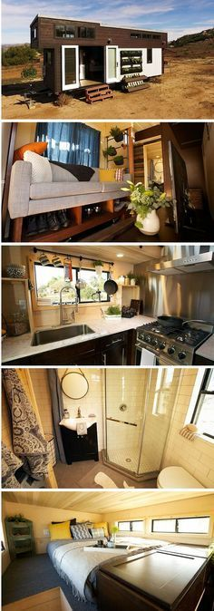 The Survival tiny house: a 280 sq ft tiny home featured on Tiny House Nation
