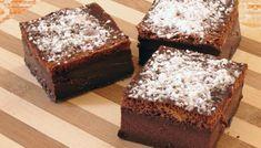 MAGISK: Trelagskaka du lager av én røre. Foto: Shutterstock / NTB Cake Factory, Beautiful Desserts, Something Sweet, Nutella, Flan, Biscuits, Food And Drink, Gluten Free, Cookies