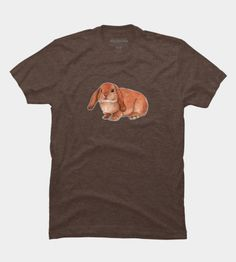 Red Rabbit Ram Men's Perfect Tee by @savousepate on DBH (various colours) #tshirt