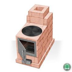 How to put your kitchen credenza? Diy Rocket Stove, Rocket Mass Heater, Rocket Stoves, Cooking Stove, Stove Oven, Backyard Kitchen, Summer Kitchen, Dream Home Design, Home Design Plans