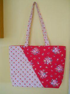 Handmade Designer Tote Bag  . Cath Kidston by ComfyCosyCrafts