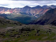 The Rainbow Range, formerly the Rainbow Mountains, isin British Columbia, Canada, 25 mi NW of Anahim Lake, on the west edge of the Chilcotin Plateau, adjoining the Coast Mtns Pacific Ranges to south, & Kitimat Ranges to north.