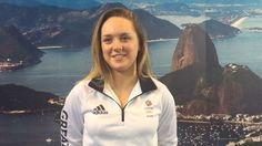 Amy Tinkler, just 16, is part of the Gymnastics Artistic Squad and taking part in her first Olympic Games at Rio 2016