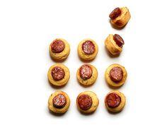 Sausage corn cakes recipe
