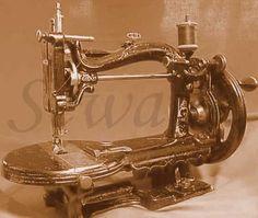 The Chas Raymond Household sewing machine circa 1870