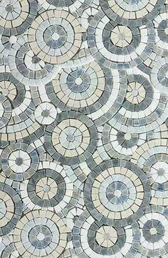 55 Beautiful Pool Mosaic Ceramic Tiles Ideas - About-Ruth Mosaic Bathroom, Mosaic Wall, Mosaic Tiles, Cement Tiles, Wall Tiles, Floor Patterns, Mosaic Patterns, Stone Mosaic, Stone Tiles