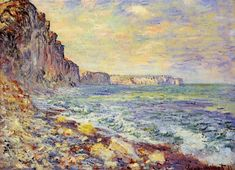Morning by the Sea by Claude Monet
