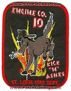Saint St Louis Fire Department Engine Company 10 Station STLFD Patch Missouri MO