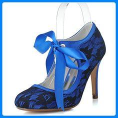 Sarahbridal , Damen Pumps Blau blau - Damen pumps ( Partner-Link) Blau fa742168ae