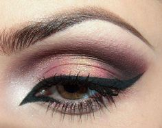 this look is gorgeous! love the pinkish gold