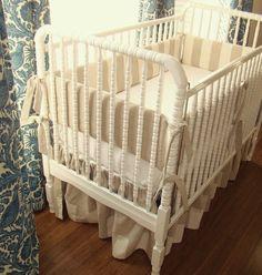 neutral still might be my favorite. #crib bedding #nursery