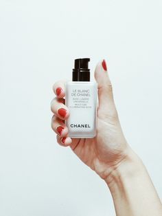 Le Blanc de Chanel in a pump bottle