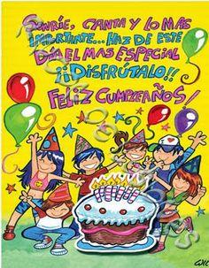 Lindos saludos de cumpleaños
