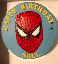 Spiderman cake Spiderman, Superhero, Cake, Fictional Characters, Hobbies, Treats, Spider Man, Pie, Kuchen