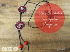 DIY DIOGENERO: collar con cápsulas Nespresso.