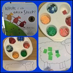 where is the green sheep colour activity/craft
