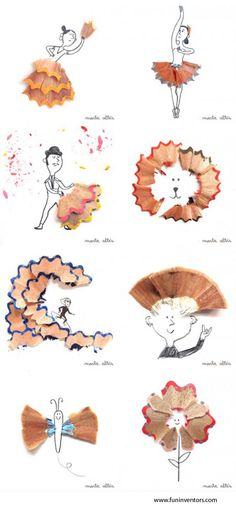 Amazing Pencil Shaving Art | FUN INVENTORS : Invent the fun in you..share it with others!