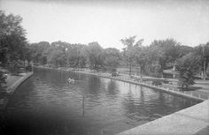 Rideau Canal 1952 Canadian Forest, Cheap Lipstick, Capital Of Canada, Canadian History, Ottawa, Quebec, Ontario, River, Black And White