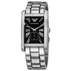 Emporio Armani Men's Stainless Steel Watch With Black Dia... https://www.amazon.co.uk/dp/B000PDZLEM/ref=cm_sw_r_pi_dp_6tnoxbBKA11BY