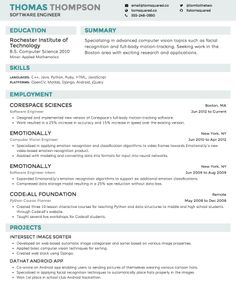Linkedin Resume Generator 12 Resume Templates For Microsoft Word Free Download  Pinterest .