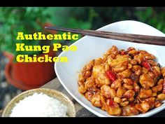 How to Make Authentic Chinese Kung Pao Chicken - YouTube