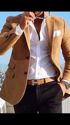 68 Ideas for sport fashion menswear moda masculina Mode Masculine, Sharp Dressed Man, Well Dressed Men, Stylish Men, Men Casual, Mens Smart Casual Fashion, Sport Casual, Stylish Outfits, Traje Casual